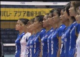 สาวไทยตบไต้หวัน3เซตรวดจ่อชิงแชมป์โลก