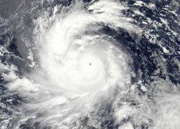 US เตือนจีนระวังพายุไต้ฝุ่นถล่ม 6 ต.ค.นี้
