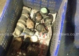 ตร.ปทุมธานีจับระเบิด13ลูกกระสุนอาก้า200นัด