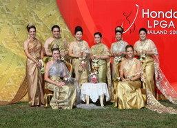 โปรสาวระดับโลกแต่งชุดไทยโปรโมตสวิงฮอนด้า