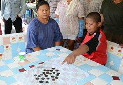 แห่งมเหรียญสมัย ร.5 ในแม่น้ำชุมพร