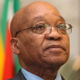 ประธานาธิบดีแอฟริกาใต้เข้าเยี่ยมแมนเดลา