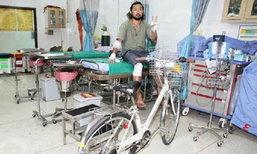 อีกแล้ว! พี่ไทยซิ่งมอเตอร์ไซค์ ชนคนญี่ปุ่นขี่จักรยานล้มแล้วหนี