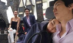 อั้ม แอมป์ ควงเที่ยวญี่ปุ่น กับภาพแอบถ่ายสุดน่ารัก