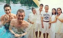"""ณเดชน์ พาครอบครัวเที่ยวภูเก็ตและภาพน่ารักกับ """"ป๊าโยชิโอ"""""""