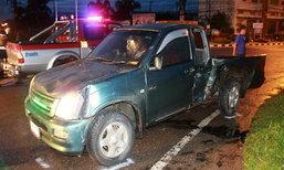 กระบะชนรถยนต์ตราด ตาย 1 เจ็บ 10