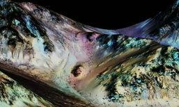 องค์การนาซา ยืนยันมีธารน้ำเค็มบนดาวอังคาร