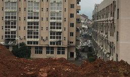 ดั่งปาฏิหาริย์ หนุ่มจีนติดซากตึกถล่ม 60 ชั่วโมงยังไม่ตาย