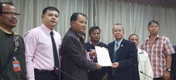 สมาคมพิทักษ์รัฐธรรมนูญไทยยื่นหนังสือผู้ตรวจฯ