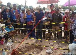 ขอนแก่นพบกระดูกมนุษย์โบราณอายุ1,500ปี