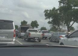 ชาวคลองขุดสตูลรณรงค์ลดอุบัติเหตุทางถนน