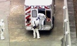หมอฮีโร่ติดเชื้ออีโบลา กลับไปรักษาที่สหรัฐฯแล้ว
