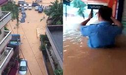 จีนอ่วม! น้ำท่วมหนักตอนใต้ บ้าน-รถพังเสียหายอื้อ