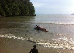 เรือล่มทะเลกระบี่นักท่องเที่ยว14คนเจ็บ4