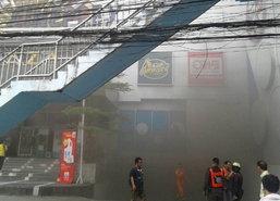 ไฟไหม้ชั้นใต้ดินห้างเมเจอร์นนท์อพยพคนหนีไร้เจ็บ
