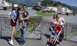 เป้ย นิหน่า ควงสามีและลูกท่องยุโรป ทริปสโลว์ไลฟ์