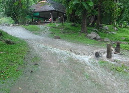 ฝนตกหนักทำน้ำป่าไหลหลากในอุทยานฯแจ้ซ้อน