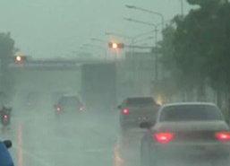 อุตุฯพยากรณ์เที่ยงวันทั่วไทยยังมีฝนตกหนัก