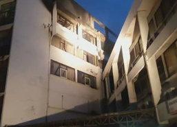 ไฟไหม้รร.ย่านดินแดงเร่งอพยพคนออกจากตึก-ไร้เจ็บ