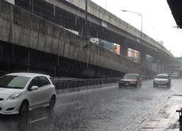 อุตุฯเผยภาคกลางตอ.ใต้ฝั่งตต.ฝนหนักกทม.ตก80%