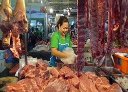 สงขลาลดขายเนื้อสัตว์อาหารทะเลรับกินเจ