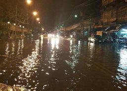 เหนืออีสานฝนเพิ่มกลางตอ.หนักกทม. 80%-เมืองทองน้ำขัง