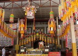 โรงเจขอนแก่นเตรียมำร้อมรับเทศกาลกินเจปีนี้