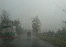 ไทยตอนบนมีฝนเพิ่มตอ.ใต้ยังตกหนัก-กทม.ฟ้าคะนอง70%
