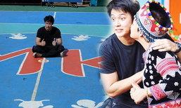 หมาก คิม คู่บุญร่วมสร้างสนามกีฬา MK ให้เด็กๆ