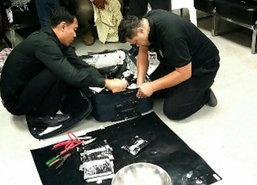 ปส.-กรมศุลฯจับ2โบลิเวียขนโคเคนผ่านไทยไปกัมพูชา