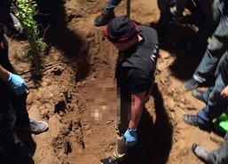 พบแล้วศพถูกฝังรีสอร์ทกาญจน์-จ่อส่งตรวจDNAสาวทอมหรือไม่