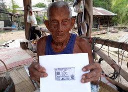 ตาหนองคายอายุ100ปีทานผัก-น้ำพริก-เนื้อปลา