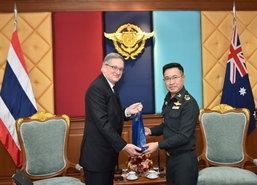 ผบ.สส.คุยททูตออสซี่สัมพันธ์กองทัพ2ประเทศแน่นแฟ้น
