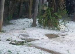 พายุลูกเห็บถล่มเชียงรายบ้านพัง8หลัง-หมอกควันคลี่คลาย