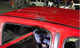 วัยรุ่นซิ่งกระบะ ยิงปืนขู่อริ กระสุนพลาดถูกเพื่อนนั่งรถมาด้วยกันเสียชีวิต