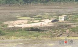 ชายแทบช็อก! ขับรถตั้งแคมป์ริมน้ำ รู้สึกตัวตื่นมาพบติดอยู่กลางแม่น้ำ