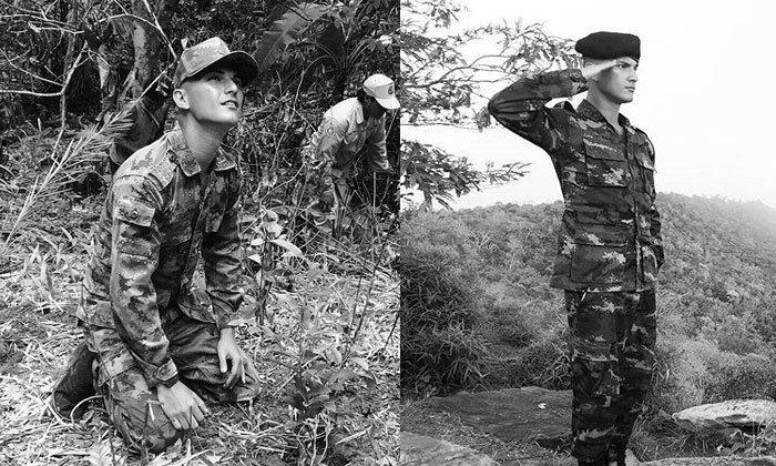 ชิน ชินวุฒิ ทหารของพระราชา ปลูกป่าตามรอยพ่อ