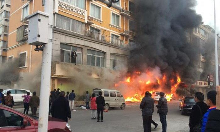 ไฟไหม้ร้านนวดเท้าในจีน เสียชีวิต 18 ราย บาดเจ็บ 18 คน