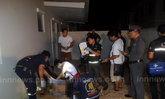 ฆ่ารปภ.หมู่บ้านชลบุรีไม้ตีหัวจับโยนจากชั้น2ดับ