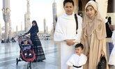ภาพน่ารัก แม่เป้ย น้องโปรด ยกครอบครัวเที่ยวซาอุฯ