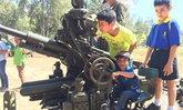 เด็กพังงาปลื้มแห่ชมเรือรบ-ปืนใหญ่ต่อสู้