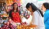 วันจ่ายตรุษจีนตลาดบริบูรณ์ อ.กบินทร์บุรี คึกคัก