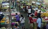 วันจ่ายตรุษจีนจ.สงขลาคึกคักผักถูกไก่หมูแพง