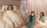"""""""จอย รินลณี"""" แอดมิด รพ. แพ็คคู่ """"ศรีริต้า"""" ป่วยไข้หวัดใหญ่"""