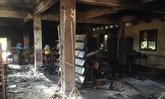 ปัตตานีคนร้ายป่วนลอบวางเพลิงอาคารเรียน
