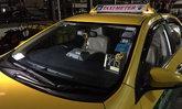 ทหารขับแท็กซี่ชน จยย.สายตรวจ ค้นรถพบใบกระท่อม