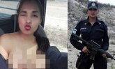 ตำรวจสาวเปลือยท่อนบน ล่าสุดถูกเด้งแล้ว