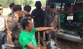 รวบแล้ว4โจรฉกรถขนเงินแซมโก้5ล. ชลบุรี-คุมทำแผน