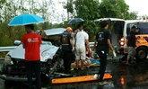 พายุฝนถล่มชัยภูมิทำน้ำท่วมเมือง-เกิดอุบัติเหตุ