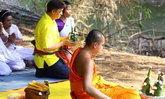 ชาวไทหล่มจัดพิธีอัญเชิญอุปคุตจากแม่น้ำป่าสักฯ